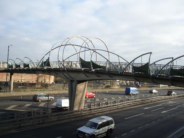 Footbridge, Hackney Wick, E9