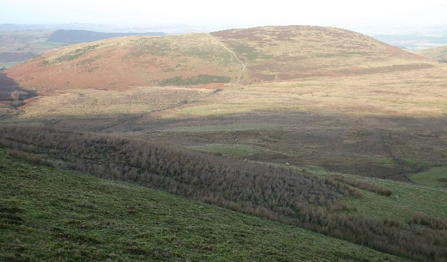 View of Ling Fell from Graystones