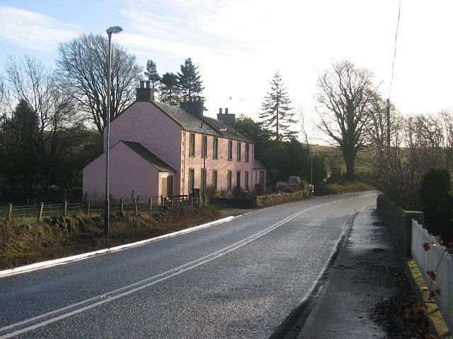 """Howgate - the """" Pink House""""."""
