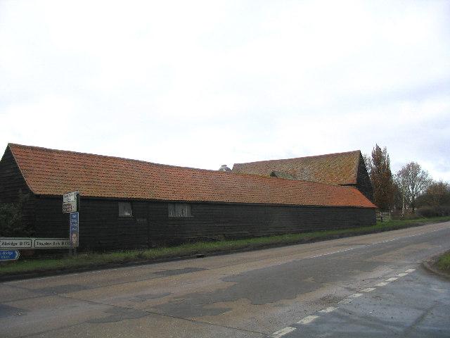 Barns, Piggotts Farm, Abridge