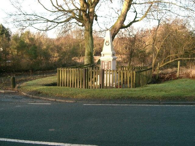Lochend War Memorial.