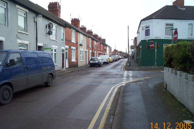 Rushden: Moor Road