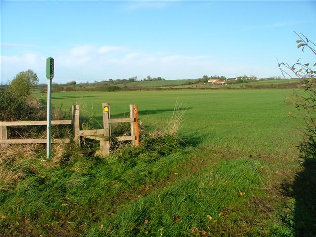 Public Footpath to Church House