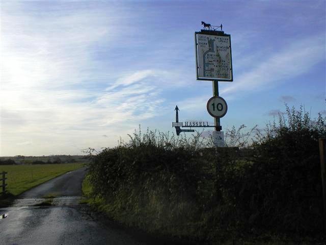 Sign to Newsham