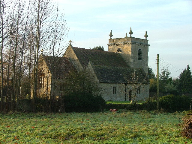 The Church of St John the Baptist, Stadhampton.