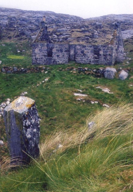 Ruined Building on Pabbay, Outer Hebrides