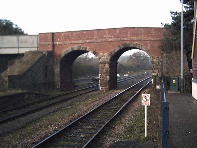 Yeoford: Bridge over the Tarka Line