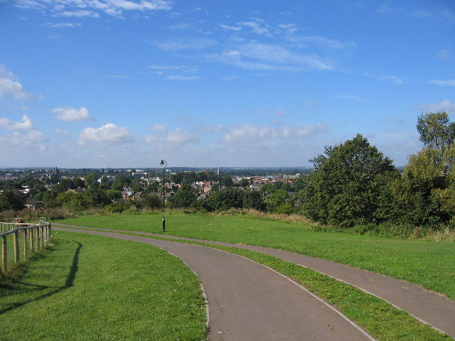 Campion Hills cycle route