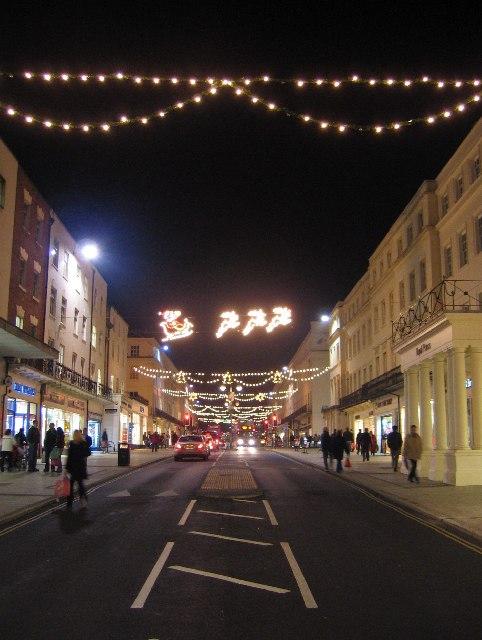 Christmas Lights on The Parade