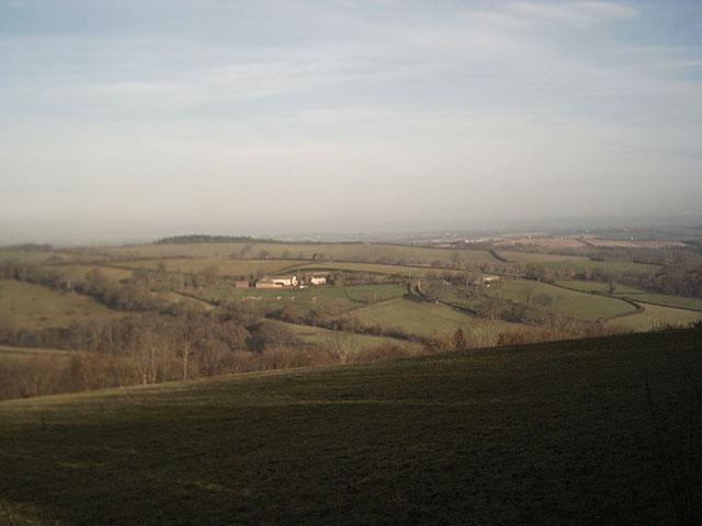 Farmland near Binneford Cross
