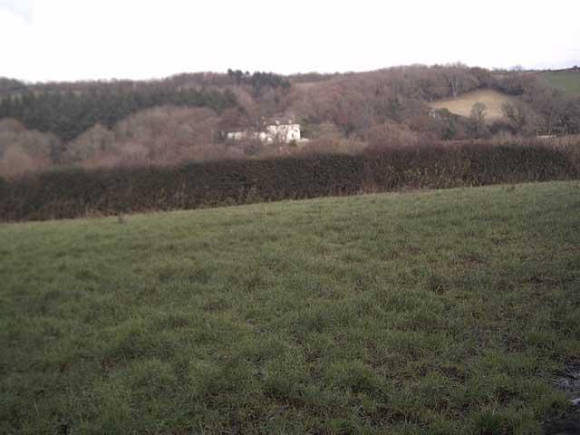 Farmland near Oxenpark Farm.