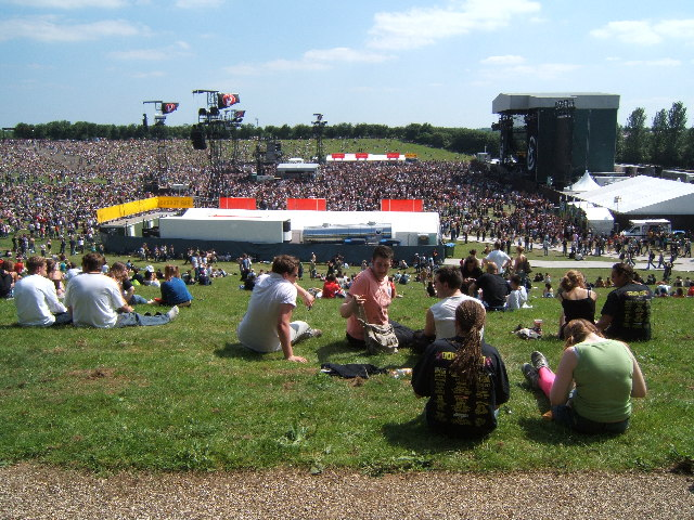 Green Day Concert at the Milton Keynes Bowl