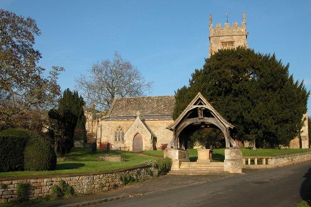 Overbury church