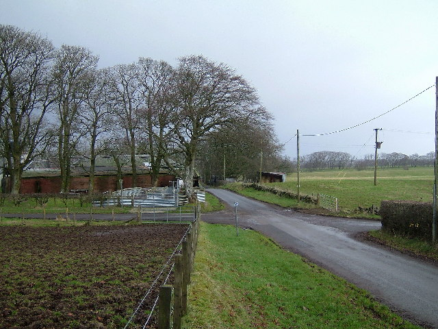 Crossroad at Skeoch