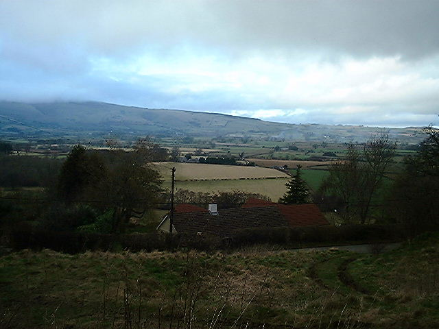 Looking north from Old Radnor