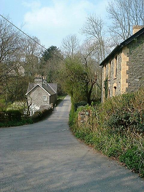 Aberedw village