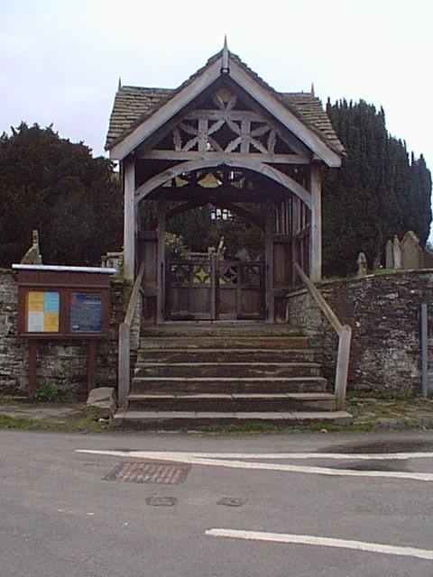 St George Church Lych Gate, Clun
