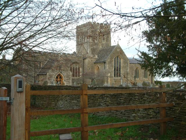 The Church of St. Mary, The Virgin,  Buckland