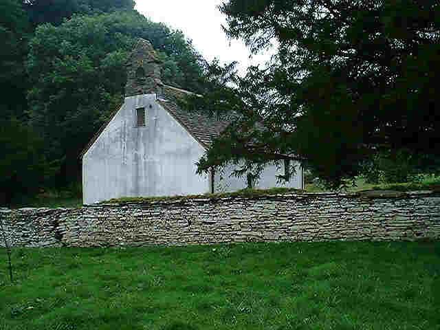 Llanbadarn y Garreg Church