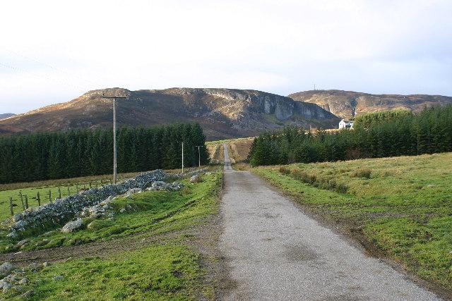 Towards Creag nan Clag