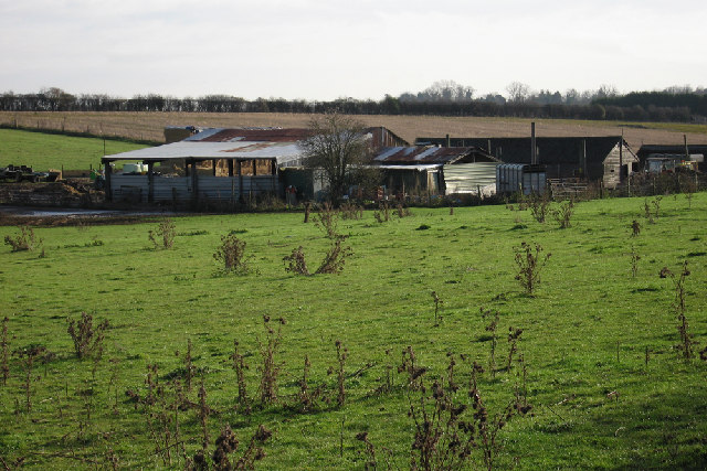 Farm Buildings near Abbotts Ann