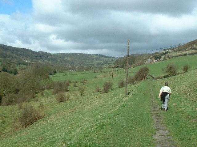 Footpath, Shibden Dale