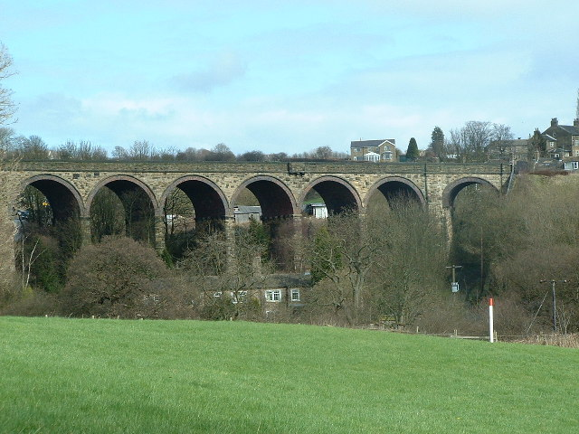 The Wyke Viaduct