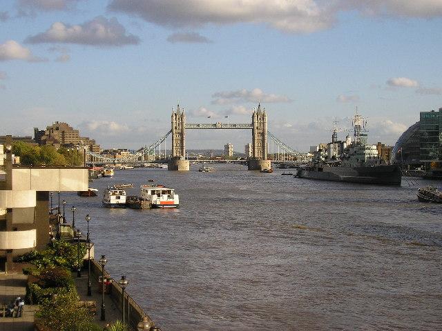 Tower Bridge from London Bridge North
