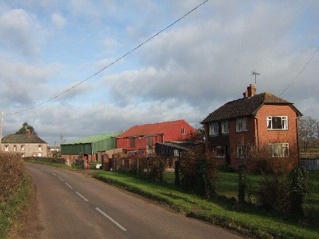 Cott's Farm, Blue Ball Road, Topsham