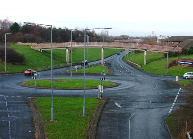Traffic Island, Coulby Newham