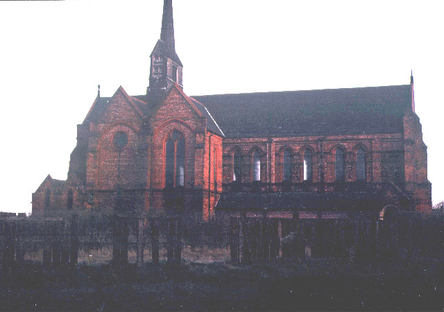 St. Mary's 1887 Church, demolished 1978