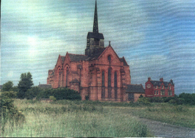 East end, St. Mary's, 1887 Church, demolished 1978