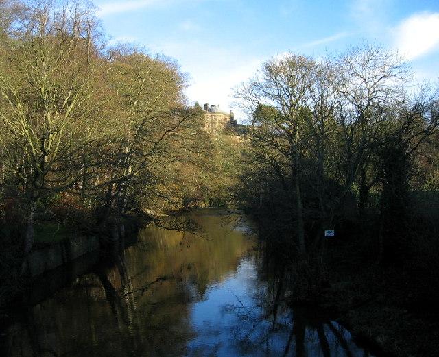 The River Blyth from Hartford Bridge