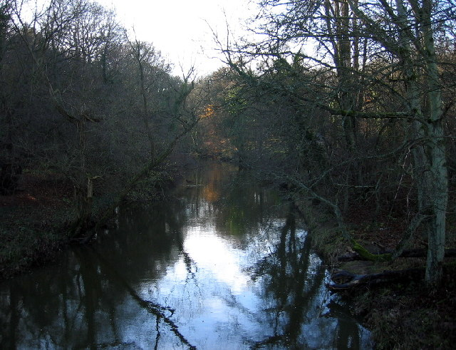 The River Blyth from Hartford Bridge