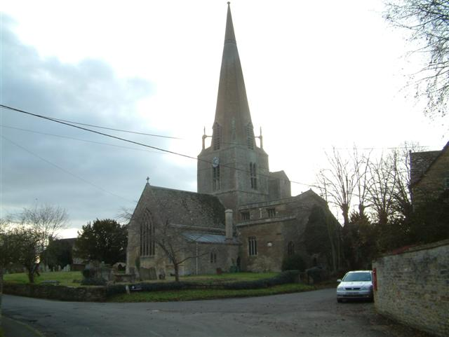Church of St. Mary,  Bampton