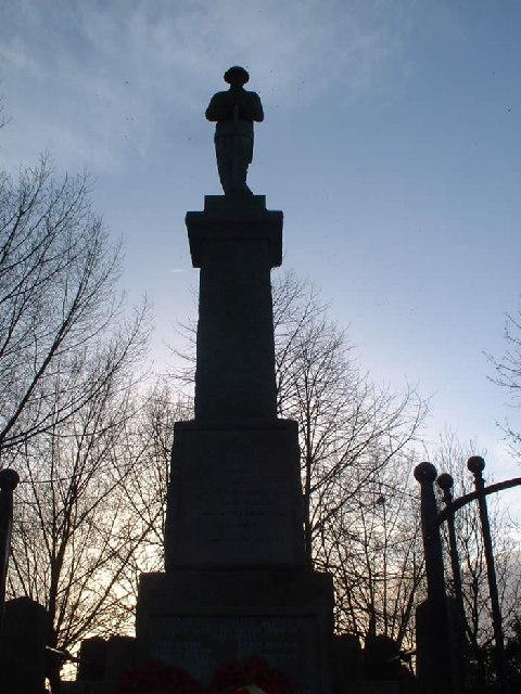 War Memorial, Treeton
