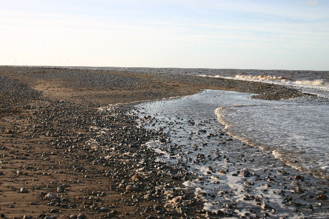 Shingle Beach Mawbray