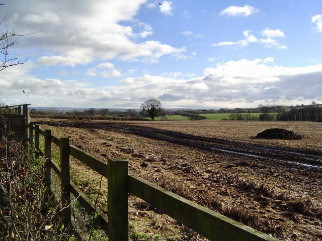 Countryside north of Langford