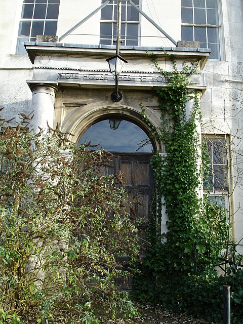 Front door of Mote House
