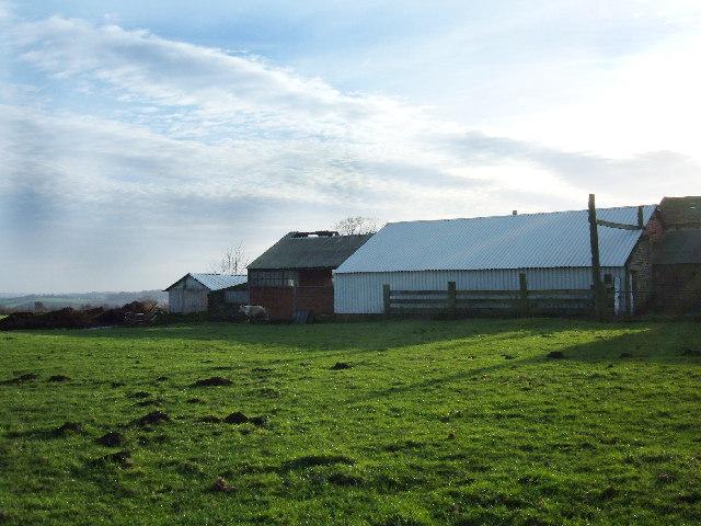 Farm buildings at Harper Gate, Tyersal