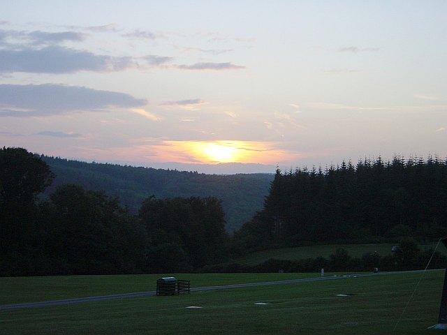 Sunset over Highmeadow Woods