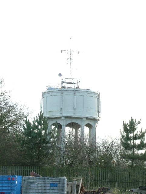 Therfield water tower.