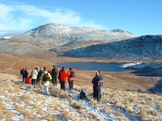 Burnmoor Tarn and Scafell