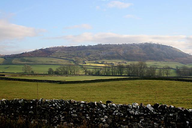 Farmland near Wharfe, Yorkshire Dales National Park