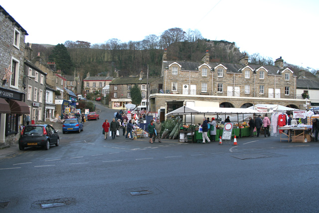 The Market Place, Settle, North Yorkshire