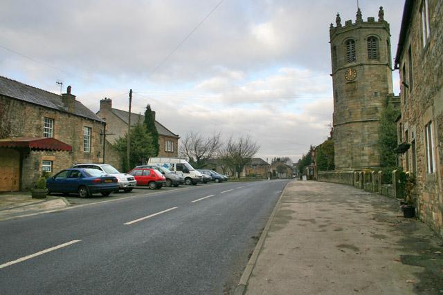 Main Street, Hornby, Lancashire