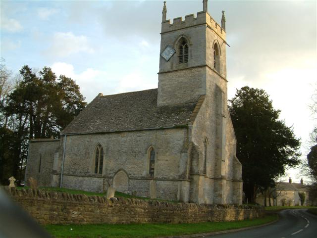 Holy Rood, Woodeaton