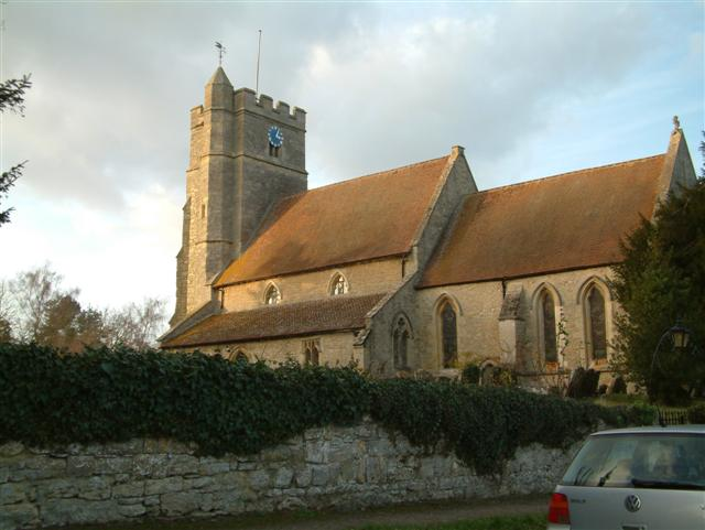St John the Baptist Church,  Stanton St John