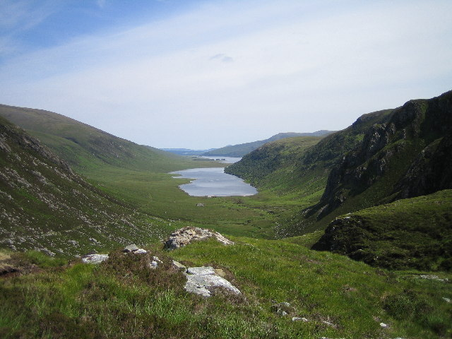 View from Bealach Easach.