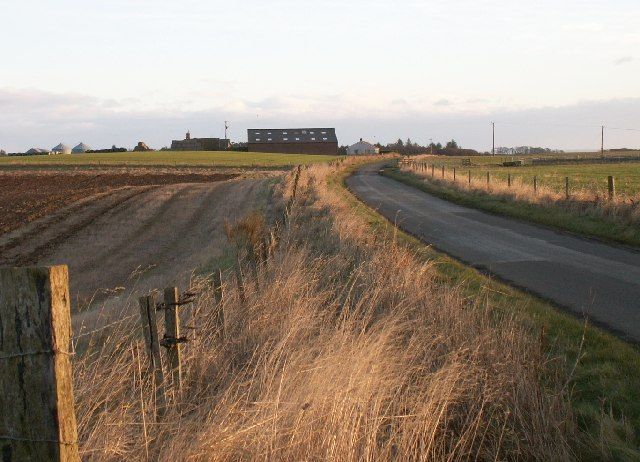 Towards Swinkie Farm